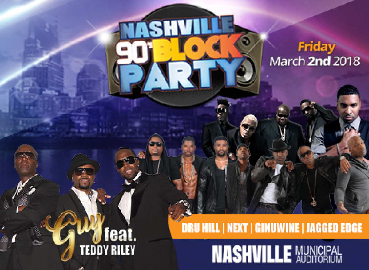 NASHVILLE'S 90'S BLOCK PARTY